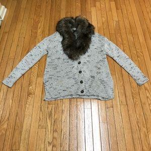 Lane Bryant Knit Sweater Cardigan